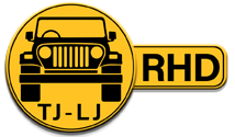 Jeep Wrangler TJ - LJ Right Hand Drive Icon