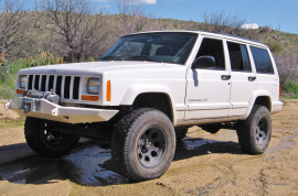jeep cherokee xj bumper front stealth wit out hoop KOR-3200