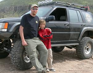 Miles and me off-road