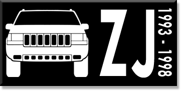 Jeep ZJ Grand Cherokee Rear Bumper with Tire Carrier KOR-3261-414