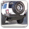 WJ Rear Bumper - Grand Cherokee Bumpers