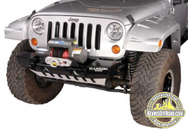 Jeep JK Wrangler Front Winch Bumpers - Stubby JKSL1102-P