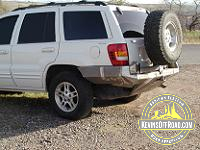 Jeep WJ Grand Cherokee Rear Bumper with Tire Carrier KOR-3252-905