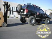 Jeep ZJ Grand Cherokee Rear Bumper With Tire Carrier – KevinsOffroad