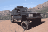 Jeep Grand Cherokee ZJ Rock Sliders w/ FREE SHIPPING (Lower 48)Skid Plates - KevinsOffroad.com / Overland-Ready.com