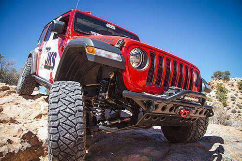 Jeep Wrangler JL Front Track Bar Adjustable by JKS w/ Free Shipping to Lower 48 - KevinsOffroad.com / Overland-Ready.com