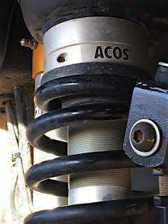 JKS Adjustable Coil Over Spacer ACOS - XJ / ZJ / TJ Front - Free 48-State Shipping - KevinsOffroad.com / Overland-Ready.com