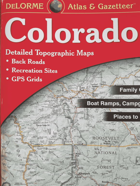 CO Topo Map - KevinsOffroad.com / Overland-Ready.com