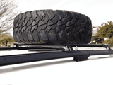 Jeep Grand Cherokee WJ Roof Mounted Tire Carrier - KevinsOffroad.com / Overland-Ready.com