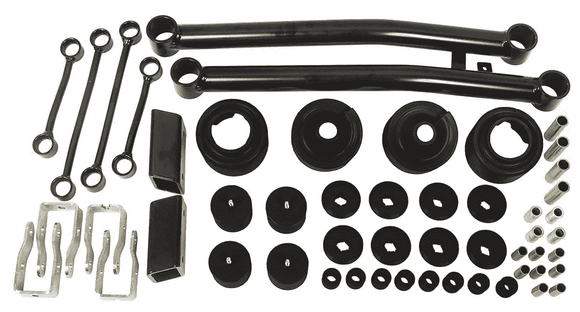 Daystar 2 Inch Lift Kit | 2018 Jeep Wrangler JL - Fits 2/4 door - KevinsOffroad.com / Overland-Ready.com
