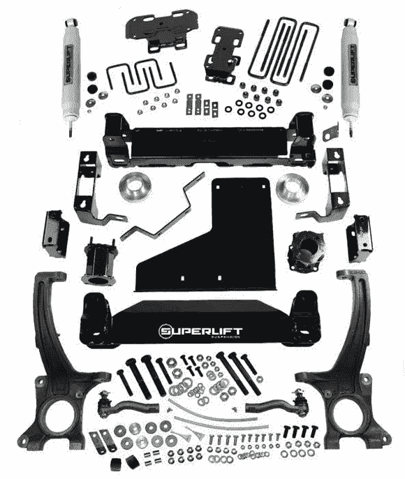6 inches Lift Kit for 2007-2018 Toyota 4WD Tundra - SuperLiftSuspension & Steering - KevinsOffroad.com / Overland-Ready.com