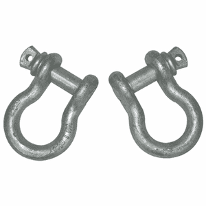 "D-Ring Shackles: 5/8"" (1 pair)Accessories - KevinsOffroad.com / Overland-Ready.com"