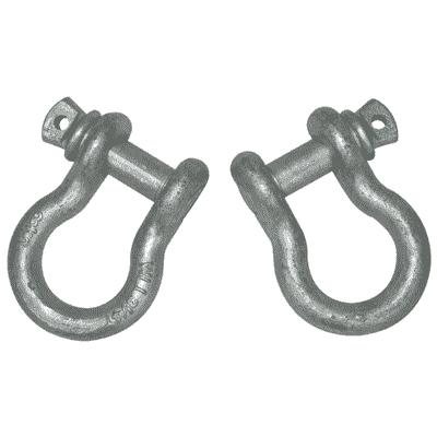 D-Ring Shackles: 5/8