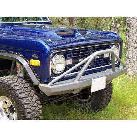 Early Bronco Front Bumpers with Pre-Runner Bar (Non-Winch) - KevinsOffroad.com / Overland-Ready.com