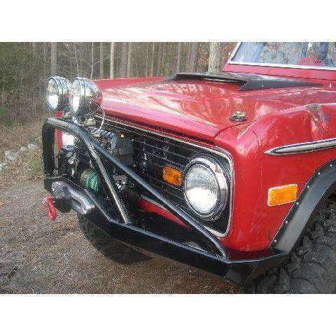 Early Bronco Front Winch Bumper with Pre-Runner Bar - KevinsOffroad.com / Overland-Ready.com