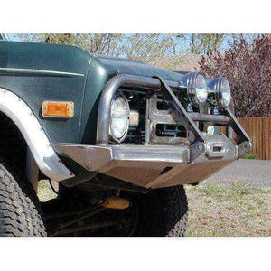 Protofab Early Bronco Rocksolid Terminator Brush Guard Winch Bumper - KevinsOffroad.com / Overland-Ready.com