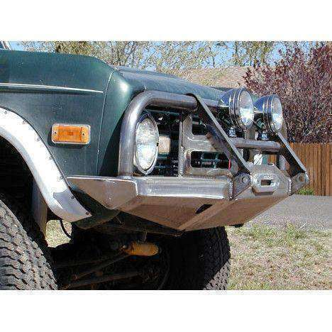 Early Bronco Rocksolid Terminator Brush Guard Winch Bumper - KevinsOffroad.com / Overland-Ready.com