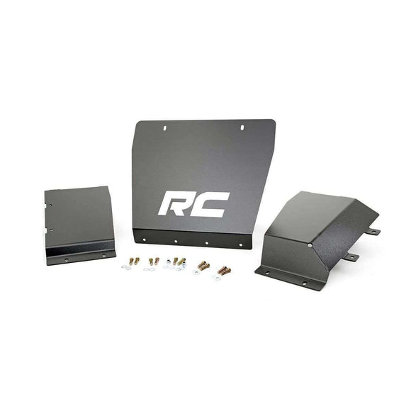 Front Skid Plate Kit for 2014-2015 GMC / Silverado 1500 PickUpSkid Plates - KevinsOffroad.com / Overland-Ready.com