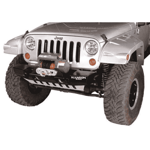 Hanson JK Stubby Basic Front Bumper - KevinsOffroad.com / Overland-Ready.com