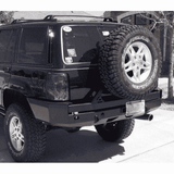 Hanson ZJ Rear Bumper W/Tire Carrier - KevinsOffroad.com / Overland-Ready.com