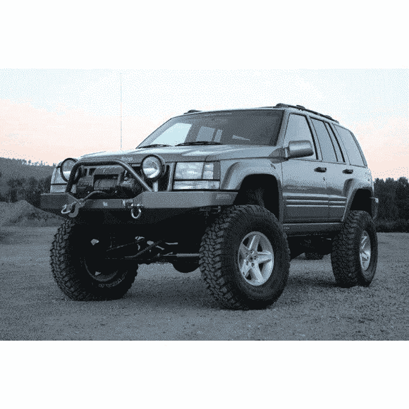Hanson ZJ WinchGuard Front Bumper - KevinsOffroad.com / Overland-Ready.com