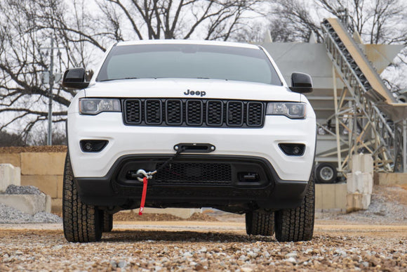 ('14-'19) WK2 Jeep Grand Cherokee Hidden Winch Mounting PlateBumpers Towing & Recovery - KevinsOffroad.com / Overland-Ready.com