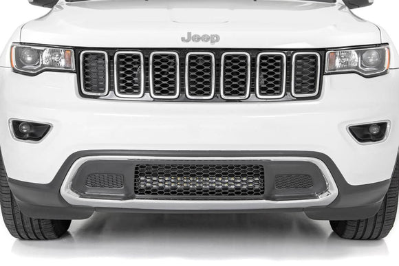 20-inch Dual Row LED Bumper Kit for 2011-2019 WK2 Jeep Grand Cherokee (Black Series) - KevinsOffroad.com / Overland-Ready.com