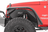 Rough Country Jeep Wrangler JK Fender Flares - Front & Rear Set - KevinsOffroad.com / Overland-Ready.com