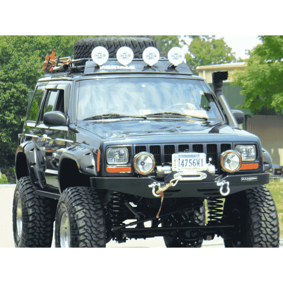 Jeep Cherokee Roof Rack - Safari Style XJ Cherokee - KevinsOffroad.com / Overland-Ready.com