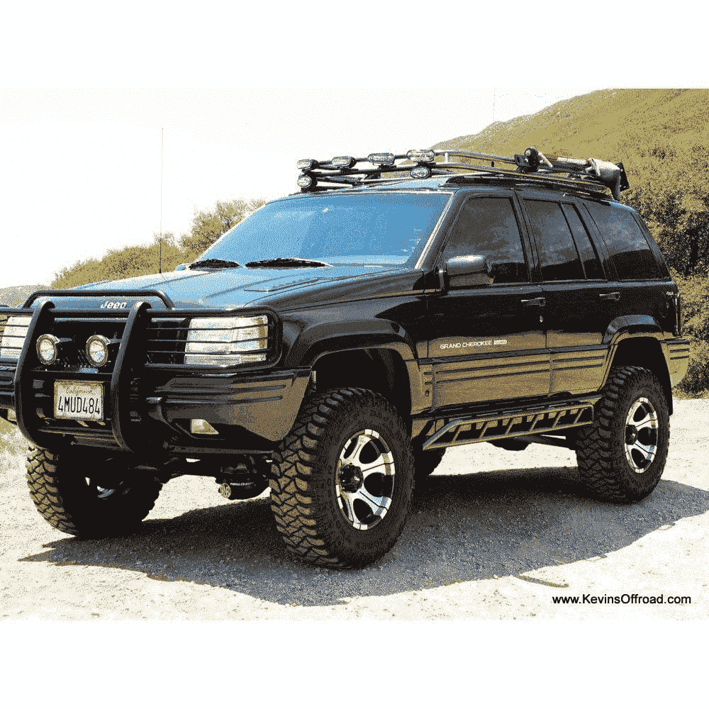 Jeep Grand Cherokee ZJ Roof Rack - Safari Style ...