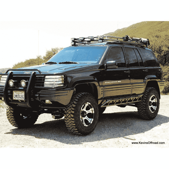 Jeep Grand Cherokee ZJ Roof Rack - Safari Style - KevinsOffroad.com / Overland-Ready.com