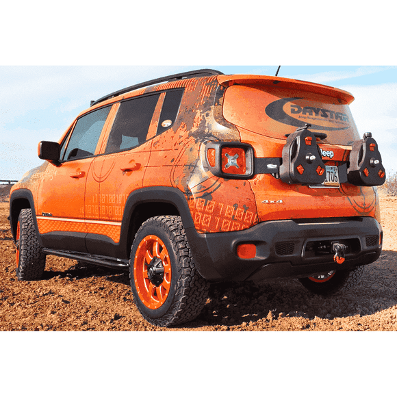 Jeep Renegade Cam Can Tailgate Mount - KevinsOffroad.com / Overland-Ready.com