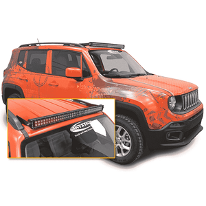 Jeep Renegade LED Light Bar - KevinsOffroad.com / Overland-Ready.com