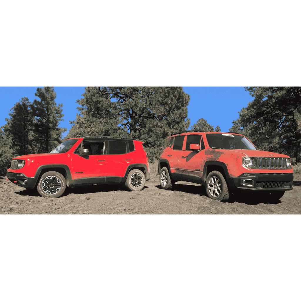 Lifted Jeep Renegade >> Jeep Renegade Lift Kit 1 5 Series