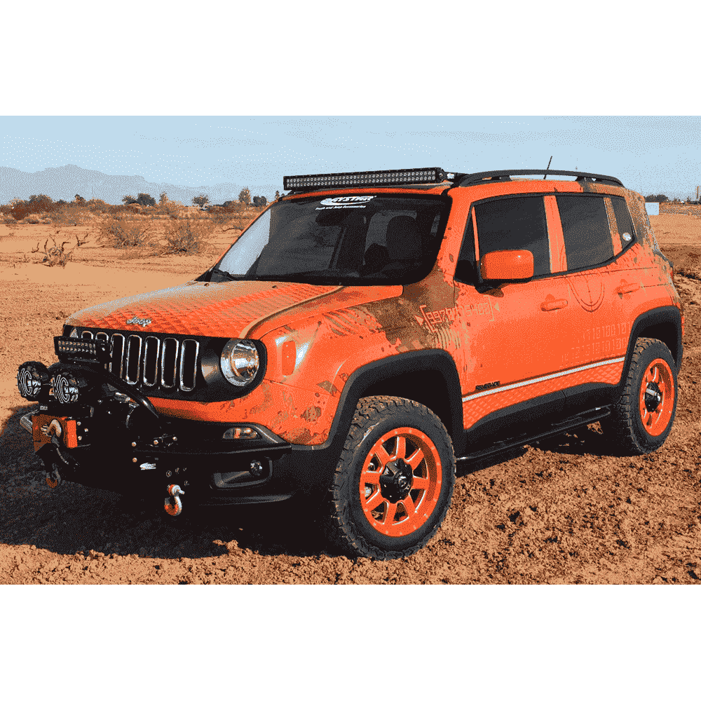 Jeep Renegade Rock Sliders Overland Readycom Kj Bk Overland Readycom X on 1986 Dodge Ram 3500