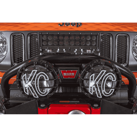 Jeep Renegade Winch Bumper Light BarLighting - KevinsOffroad.com / Overland-Ready.com