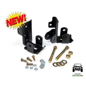 Jeep Wrangler JK 2007-2014 Rear Shock Relocation Kit - KevinsOffroad.com / Overland-Ready.com