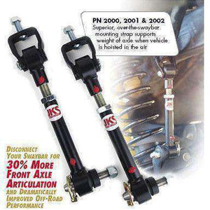 "JKS-2030 Sway Bar Disconnects for JK Wrangler (0-2"" of lift) FREE 48-STATE SHIPPING - KevinsOffroad.com / Overland-Ready.com"
