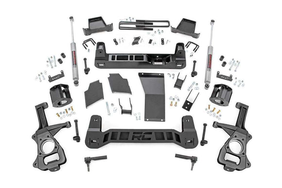 6in Suspension Lift Kit | Strut Spacers for 2019 Chevrolet 1500 | GMC - KevinsOffroad.com / Overland-Ready.com