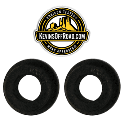 KOR-1179-KIT Super-hard Durometer Track Bar Bushings - KevinsOffroad.com / Overland-Ready.com