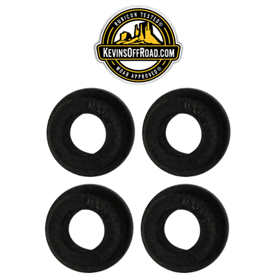 KOR-1199-KIT Super-hard Durometer Track Bars Bushings - KevinsOffroad.com / Overland-Ready.com