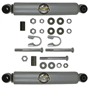 "KOR-2052 Dual Steering Stabilizer Kit: WJ Grand Cherokee ONLY (Stock Track Bar or 1"" Aftermarket) - KevinsOffroad.com / Overland-Ready.com"