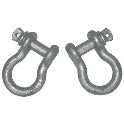 Shackles: Screw-pin/6500# 3/4