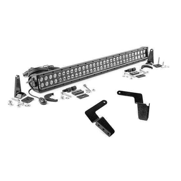 Toyota 30in LED Bumper Kit for 07-14 FJ Cruiser - Black SeriesLighting - KevinsOffroad.com / Overland-Ready.com