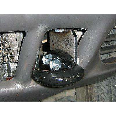 WJ Grand Cherokee Tow Hook Recovery Set - KevinsOffroad.com / Overland-Ready.com