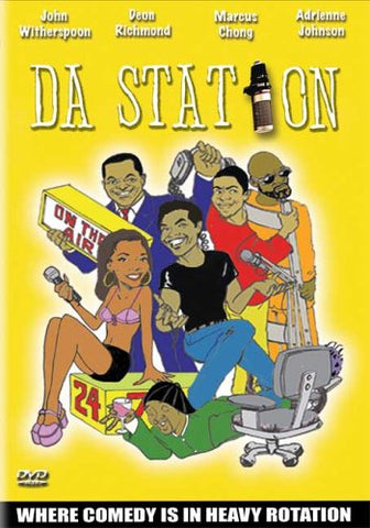 BLU-RAY TITLE:  Da Station<br>ACTORS: John Witherspoon, Deon Richmond, Marcus Chong