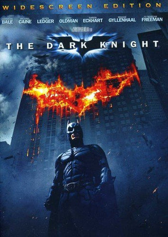 BLU-RAY TITLE:  Dark Knight <br>ACTORS: Christian Bale, Heath Ledger, Maggie Gyllenhaal, Aaron Eckhart, Michael Caine