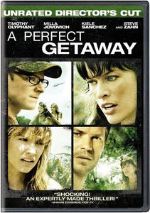 BLU-RAY TITLE:  A Perfect Getaway<br>ACTORS: Timothy Olyphant, Steve Zahn, Milla Jovovich