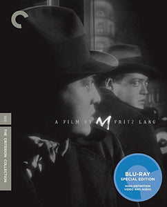 BLU-RAY TITLE:  M<br>ACTORS: Peter Lorre, Otto Wernicke - Mediaworks Records
