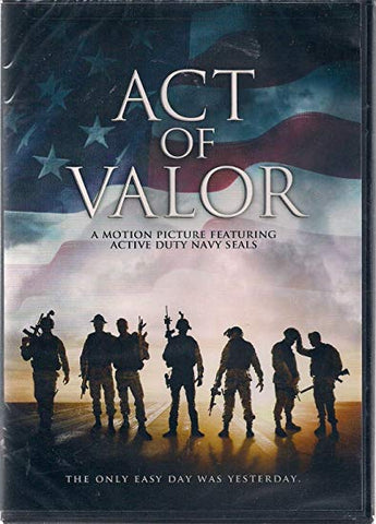 BLU-RAY TITLE:  ACT OF VALOR <br>ACTORS: Navy Seals